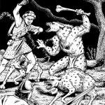 werehyena_fight_ink